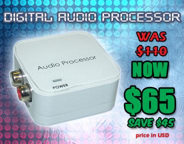 Digital Audio Processor On Sale Now