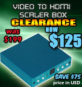 Video to HDMI Scaler Clearance