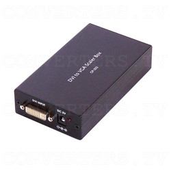 DVI to VGA Scaler Box